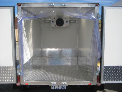 Cool Room freezer & coolroom trailers - truck freezer rentals